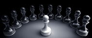 stock-photo-59769938-chess-background-central-figure-white-pawn-3d-illustration